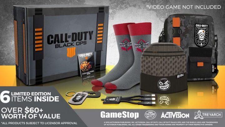 CoD:BO4:コレクターボックス登場、6種の限定アイテムが約3,300円(北米)