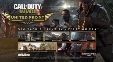 CoD:WWII:第3弾DLC「共同戦線編」公式トレーラー公開、6月26日にPS4へ先行配信