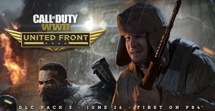 CoD:WWII:第3弾DLC「United Front」が6月26日にPS4へ配信か