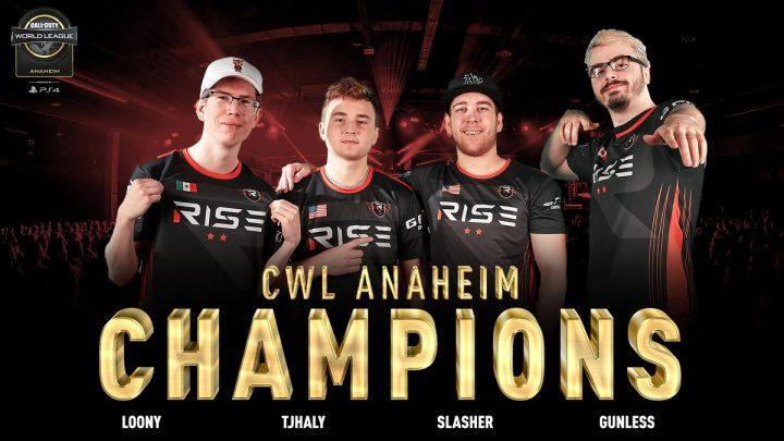 CoD:WWII:「CWLアナハイム 2018」Rise Nationが圧倒的強さで優勝、2連覇達成
