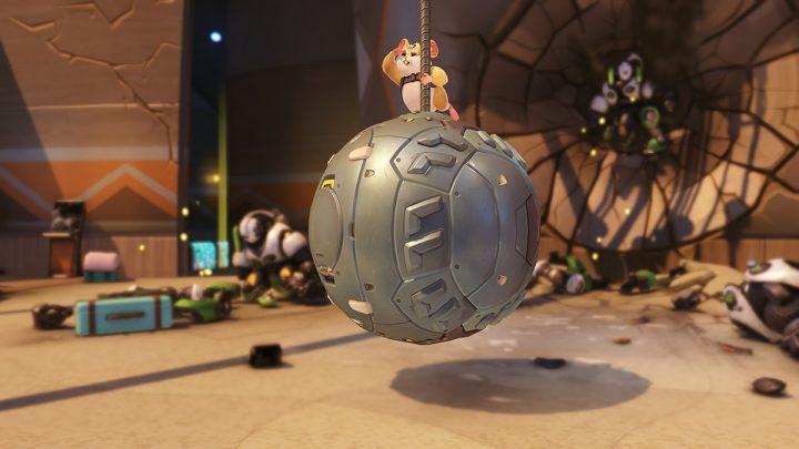 オーバーウォッチ:28番目の新ヒーロー「レッキング・ボール」