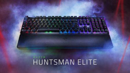 Razer、新型フラグシップ ゲーミングキーボード「Huntsman Elite」発表、