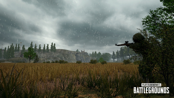 PUBG:雨が降りしきるなかスナイパーのみで戦う期間限定イベント「WAR MODE: ONE SHOT, ONE KILL」が6月8日から開始