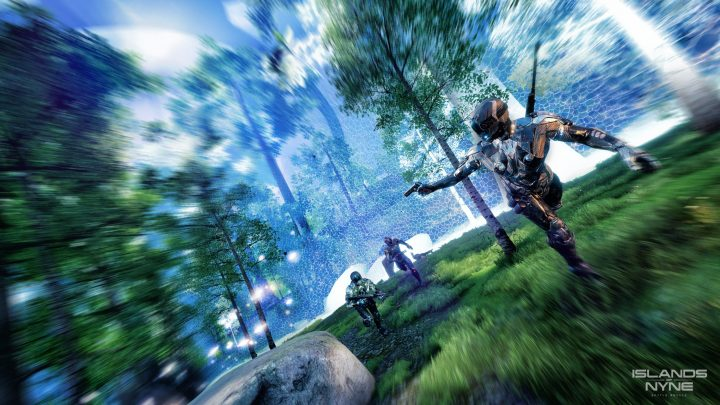 近未来SF高速バトロワFPS『Islands of Nyne: Battle Royale』、7月13日配信