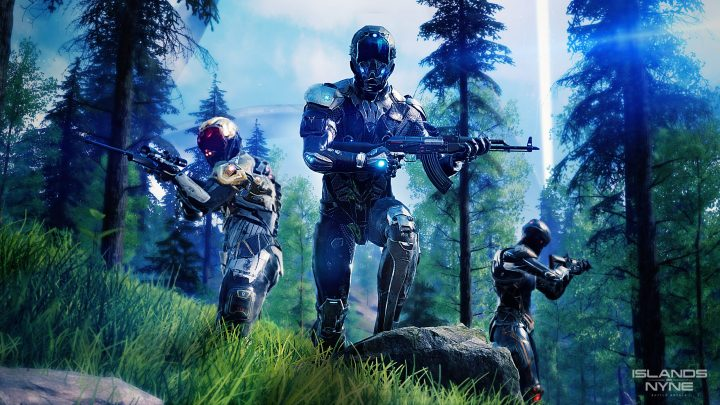 SF高速バトロワFPS『Islands of Nyne: Battle Royale』、7月13日配信