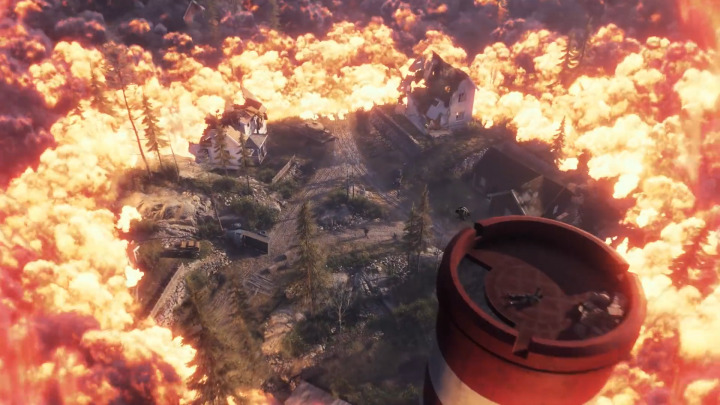 BFV: Gamescomトレーラー内にバトルロイヤルモードらしきシーンがチラ見え