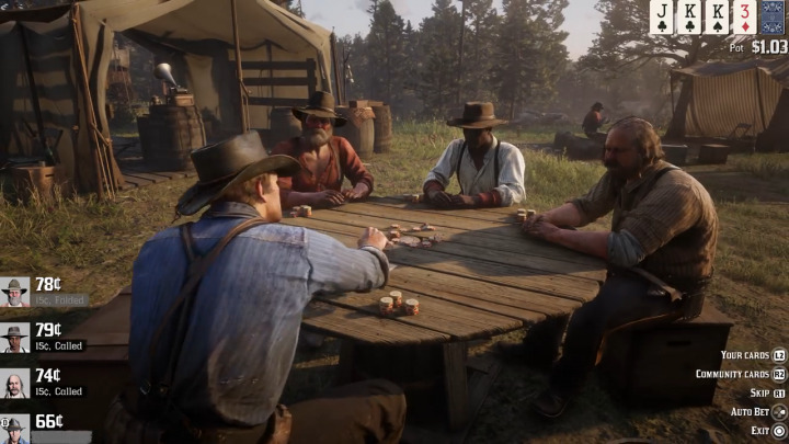 Red Dead Redemption2 レッド・デッド・リデンプション2 賭け