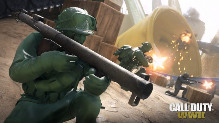 CoD:WWII:おもちゃになる新マップ「Sandbox」、PC, Xbox Oneへ8月31日解禁
