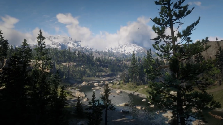 Red Dead Redemption2 レッド・デッド・リデンプション2 山岳地帯