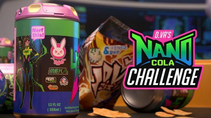 オーバーウォッチ:9ゲーム勝つだけでスキンが手に入る「D.Va ナノ・コーラ チャレンジ」開催