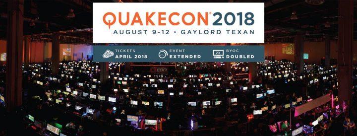 """世界最大級のLANパーティー""""QuakeCon 2018″のイベントスケジュール公開中、『Fallout 76』や『DOOM Eternal』などの情報も"""