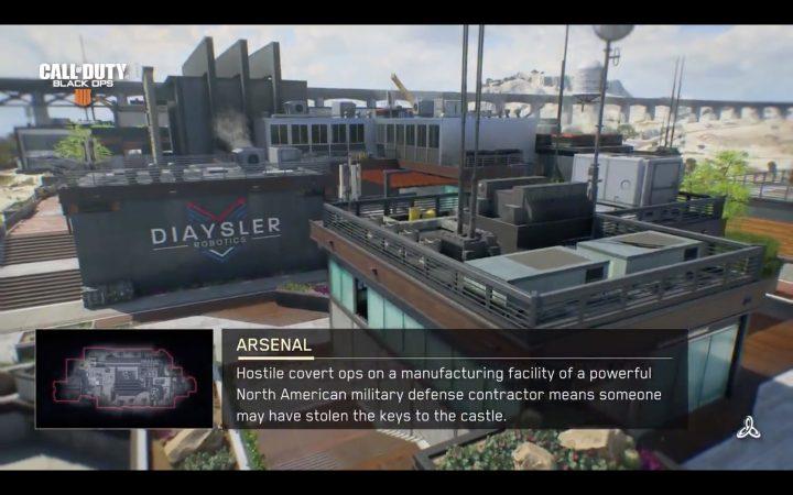 CoD:BO4:マルチプレイヤーマップ「アーセナル」のショート映像公開