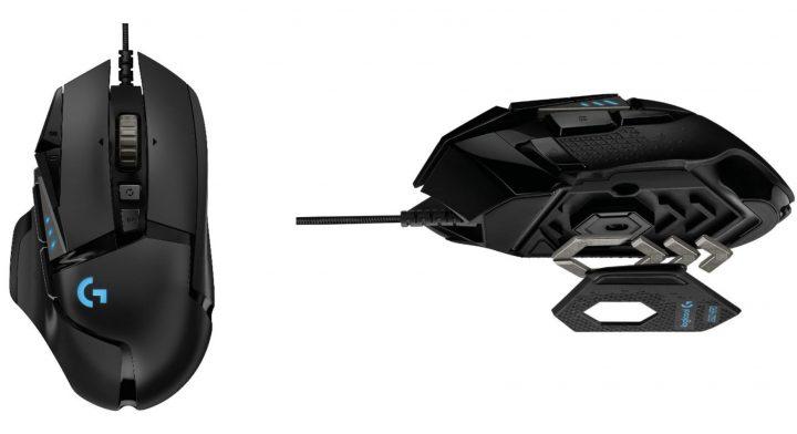 Logicool、高機能eスポーツ向けゲーミングマウス「G502 HERO」を10月18日発売、11のボタンと5個のウエイト搭載