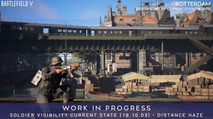 BF5:敵兵士は見やすくなった? 最新版との比較画像