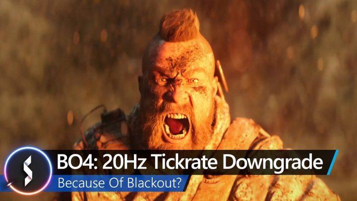 CoD:BO4:製品版はティックレートが異常に低い20Hzで弾抜けや理不尽デスが発生中、Treyarchが改善を約束