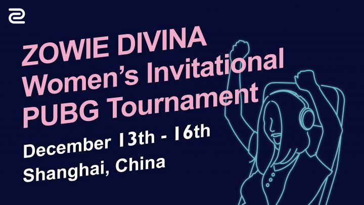 女性限定PUBG大会:ZOWIE DIVINA Women's Invitational PUBG Tournament 開催決定、公募開始