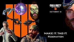 CoD:BO4:おもしろショート動画キャンペーン「CODNation」