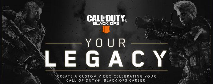 『CoD:BO』シリーズの戦績を確認できるサービス「Call of Duty Legacy」登場、自動で戦績紹介動画も作成