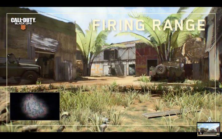 CoD:BO4:リメイクマップ「Firing Range」のショート映像公開、シリーズ恒例の人気マップ