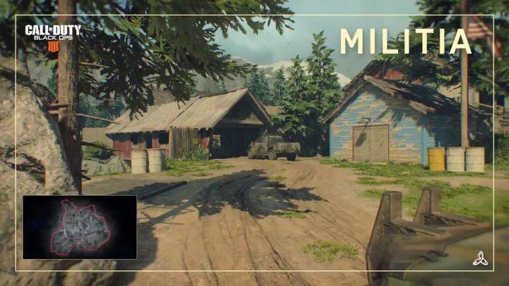 CoD:BO4:新マップ「Militia(ミリティア)」のショート映像公開、アラスカの村が舞台