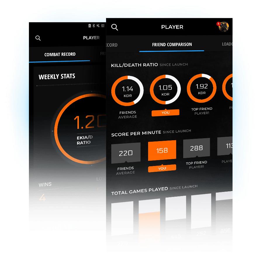 CoD:BO4:「Call of Duty コンパニオンアプリ」登場、戦績確認や装備変更など(海外)