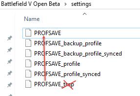 BFV:PC版『バトルフィールド V』で設定が初期化されるのを防ぐ方法