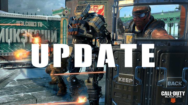 CoD:BO4:アップデート配信、新ゲームモードや新マップ、待望のキャラクターミッション追加など