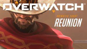 オーバーウォッチ:マクリーを主人公とした新短編アニメーション「REUNION」公開、マクリーの相棒とは?