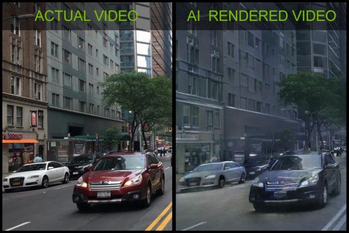 未来がやってきた:NVIDIAがAIで3D環境をレンダリングする技術公開