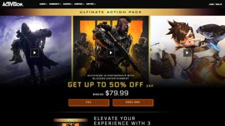 "『CoD:BO4』×『Destiny 2』×『オーバーウォッチ』のセット""'Ultimate Action Pack""が79ドルで登場(海外)"