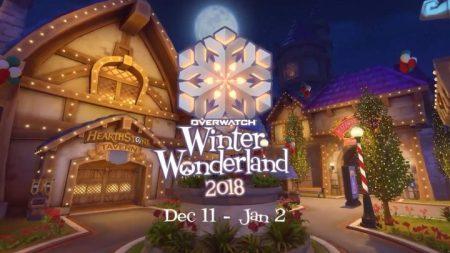 オーバーウォッチ:冬季イベント「ウィンター・ワンダーランド2018」開催発表