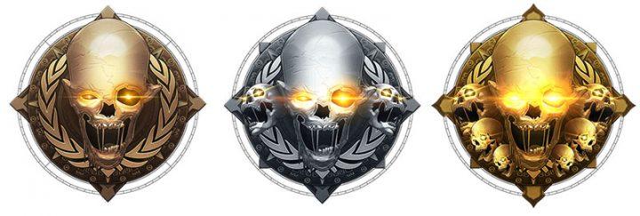 CoD:BO4 ガントレットモードのメダル?