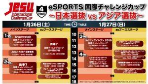「eSPORTS国際チャレンジカップ 」1月26日より開催、競技タイトルに『オーバーウォッチ』など