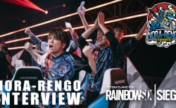 R6PL:R6インビテーショナル2019 野良連Fnatic戦試合後インタビュー「リラックス状態で臨めて最強だった」