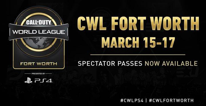 CoD:BO4:今季2度目のメジャー大会「CWLフォートワース」3月16日から開催、日本からはRush GamingとLibalent Vertexが参戦