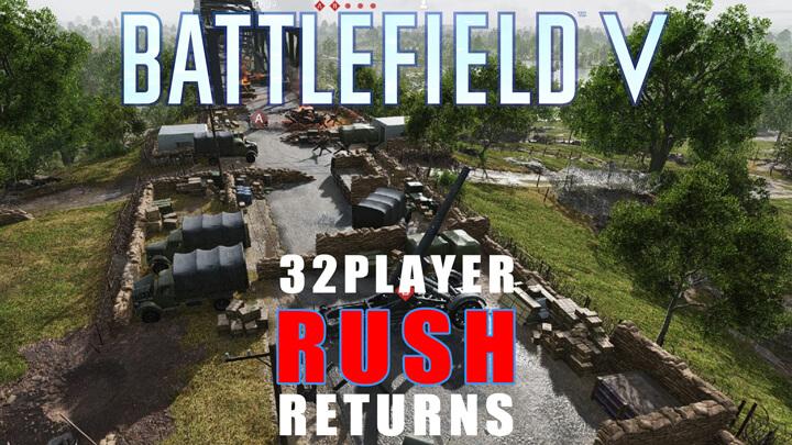 BFV:32人対戦「ラッシュ」が今日から復活、3月20日までプレイ可能