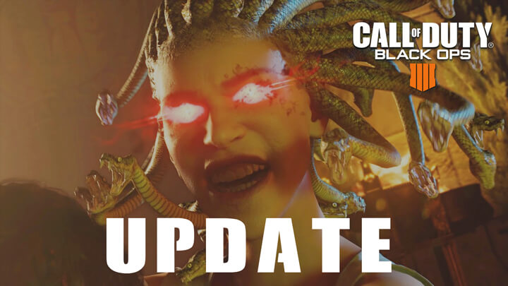 CoD:BO4:最新ゲーム設定アップデート配信、「MKII」確約の無料武器クレート詳細や多数のバグ修正