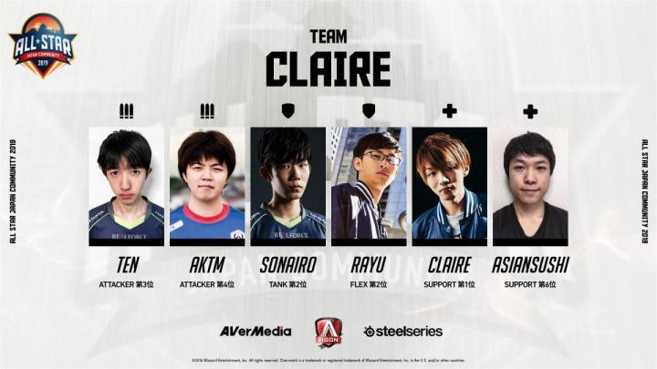 team claire