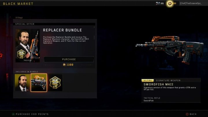 the-replacer-blackout-character-special-bundle-swordfish-MKII-Signature-Weapon