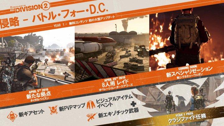 Division2 侵略:バトルフォーD.C