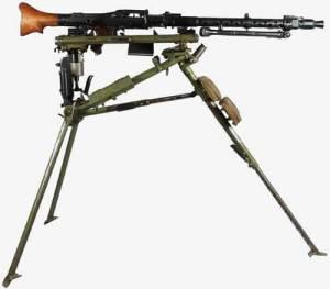 Stationary MG34