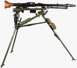 Stationary MG34