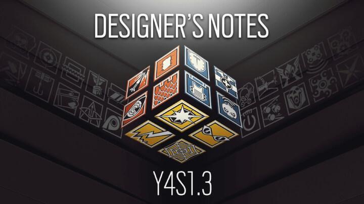 レインボーシックス シージ:Y4S1.3デザイナーズノート公開、シールドフラッシュのクールダウン大幅増加やエアジャブ・イービルアイ対策手段など8人を調整