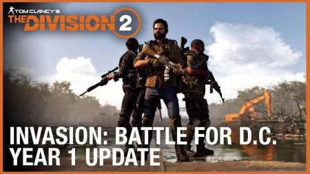 ディビジョン2:新トレーラーがリリース、8人レイドは4月25日に解禁、新エキゾチック武器やイベントが追加されるタイダル・ベイスンは本日配信など