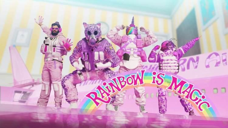 レインボーシックス シージ:期間限定イベント「Rainbow is Magic」開始、オモチャになりきりテディーベア閣下を救え