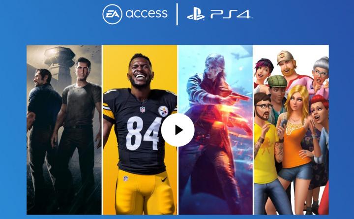 EA Access がついに PS4 向けに 7 月から開始、月額 250 円で多数のゲームをプレイし放題