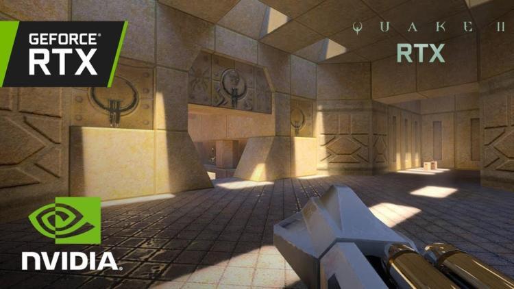NVIDIA、レイ トレーシングで生まれ変わった名作FPS『QUAKE II』体験版を6月6日より無料配信