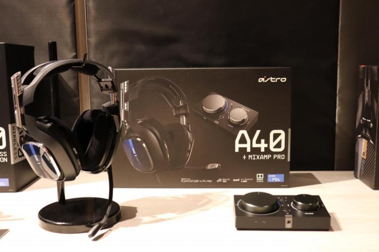 ASTRO Gaming 新製品発表会フォトレポート:ゲーミングヘッドセット ASTRO A50 / ASTRO A40 TR  / ASTRO MixAmp Pro TR