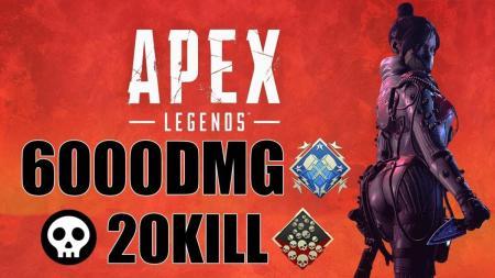 日本一上手い『エーペックスレジェンズ』プレイヤー? 高いエイム力と判断力で6,000ダメージチャンピオン動画
