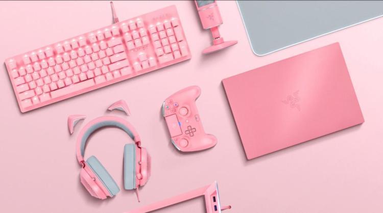 Razer、ピンクのゲーミングデバイス「Quartz Pink」シリーズの販売店舗拡大